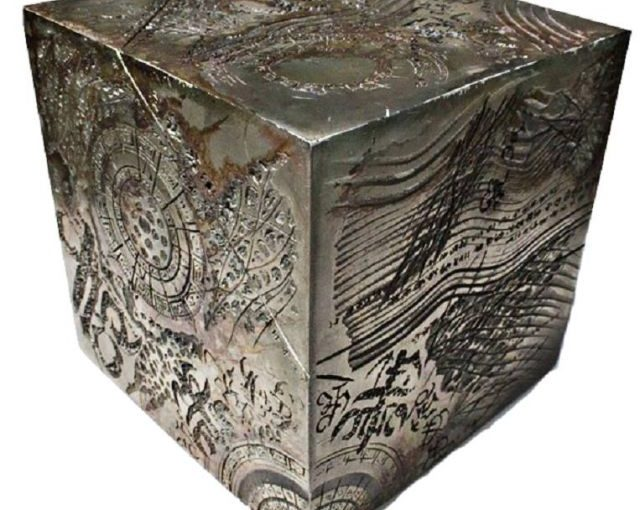 """Video:""""The Wolfsegg Iron, Also Known as the Salzburg Cube (2,000,000 Years Old)"""