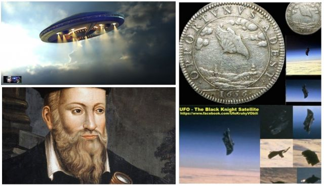 VIDEO: Nostradamus is quoted as saying mankind would discover a machine in space that was sent to us by the aliens. in 2017 – 2018?