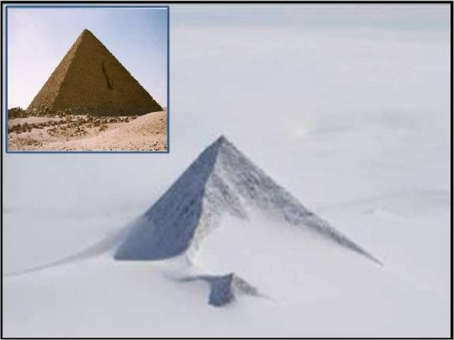 In Antarctica were discovered a huge pyramid older than 50,000 years!
