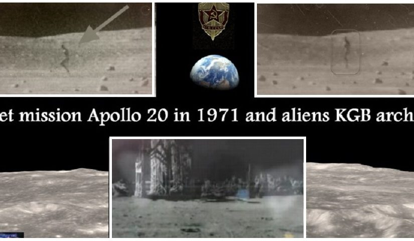 Alien city on the moon from the Apollo missions 20.8.1971.Video.