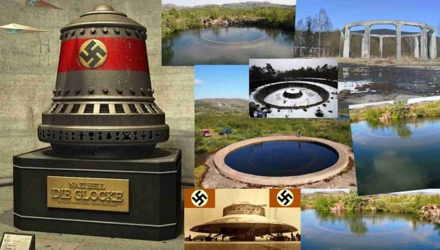 Germans .Beyond time and space. NAZI UFO 1935-1945. part 2.  Abandoned 1943 Nazi Concrete 'Rings' in Russia.