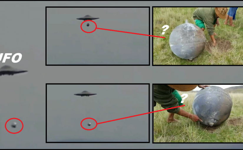 VIDEO: Mysterious balls, falling out of the sky from where they come from?
