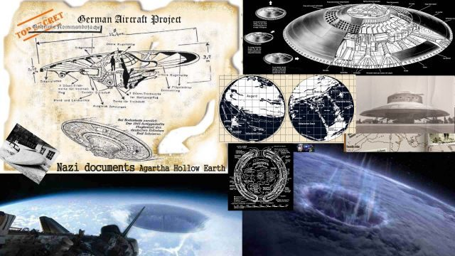 VIDEO: Nazi Documents Confirm the Existence of the Country Agartha Hollow Earth: