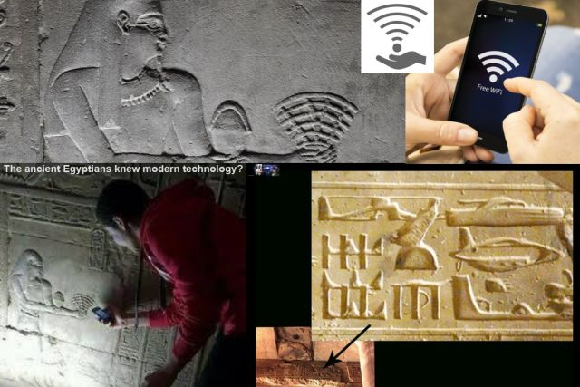 Know the Ancient Egyptians Wifi, Helicopters and Airplanes?