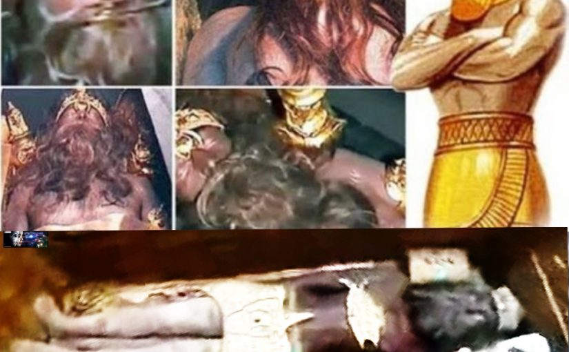 The Exceptional Discovery: the Body of King Anunnaki for 12,000 Years Completely Intact!