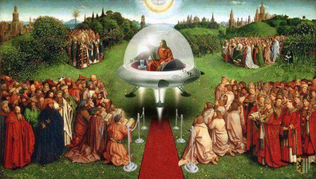 Was Jesus an alien?
