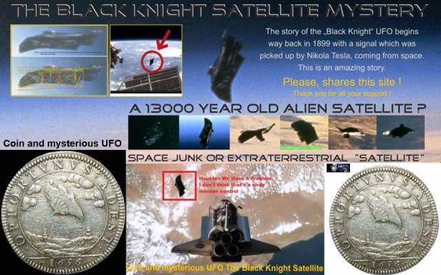 UFO-The Black Knight Satellite! Video.