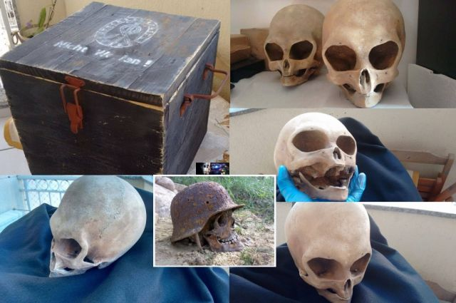 """The Mystery of the Strange Briefcase and Two Mysterious Skulls Discovered in the Mountains in Elbrus, Russia in the summer of 2015 – Hunters Warehouse Found Another Suitcase """"Ahnenerbe"""" PART 2"""