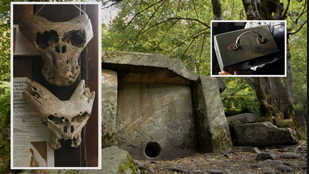 The Mystery of the Strange Briefcase and Two Mysterious Skulls Discovered in the Mountains in Russia PART 1