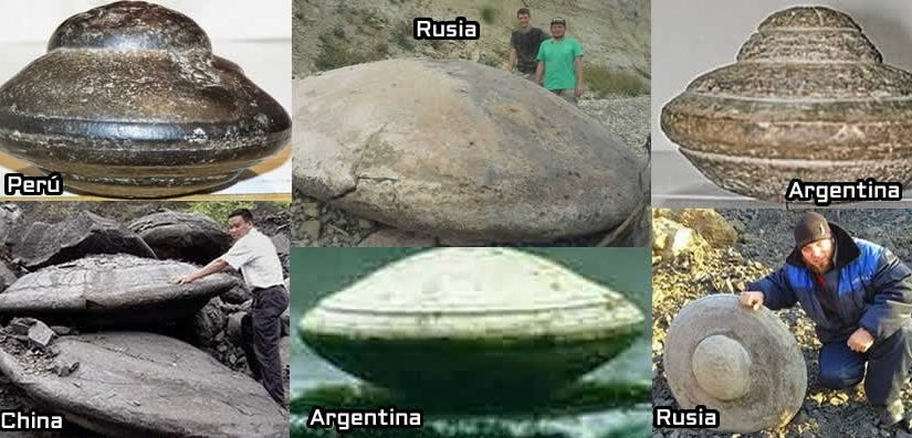 UFO Stones discovered worldwide.