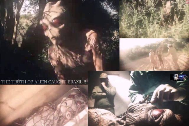 The Truth of Alien Caught Brazil!