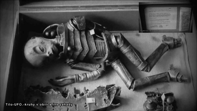Video: The content of the alien in the Box on October 5, 1948, near Clarkville, Kentucky.