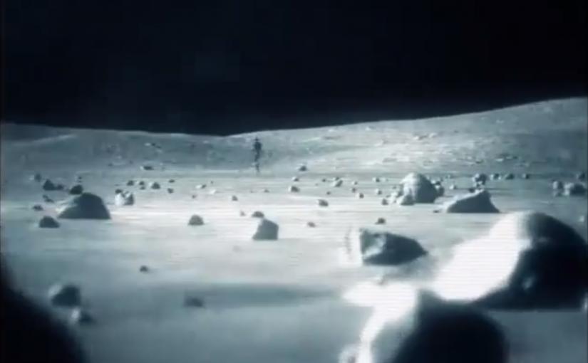 Secret archive video recordings – Apollo 11 The Blue Planet Project Book Secret videotape of an alien on the moon