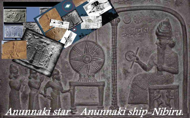 Anunnaki star – Anunnaki ship-Nibiru  They travel through