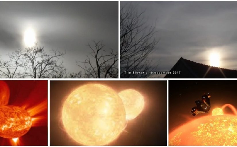 VIDEO:  Two suns? 11.April.2018 and 10.december.2017