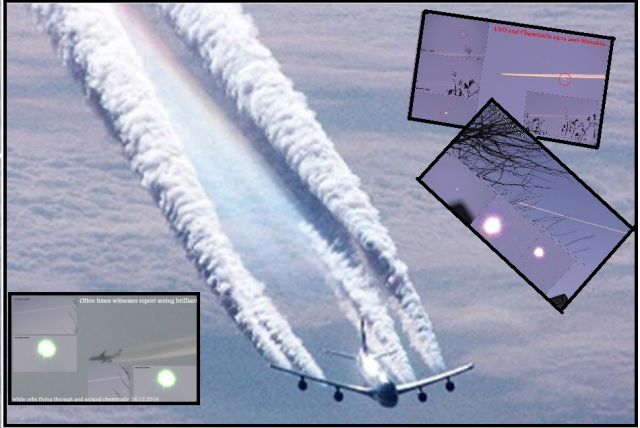 Video: UFO and Chemtrails!