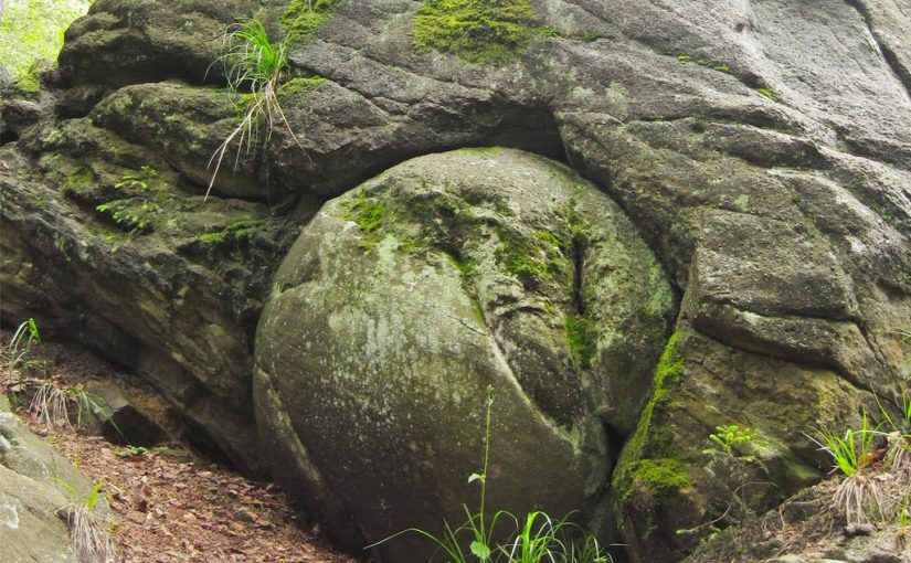 Mysterious stone balls in Slovakia.
