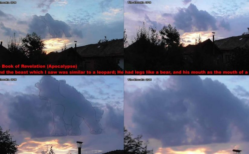 VIDEO: Strange Cloud Accompanied by Terrifying Sounds of the Slovakia!