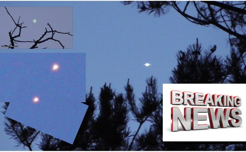 New Videos: More new UFO images from Slovakia!