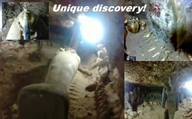 VIDEO:Unique discovery: Tombs of Egyptian rulers in secret hiding place!