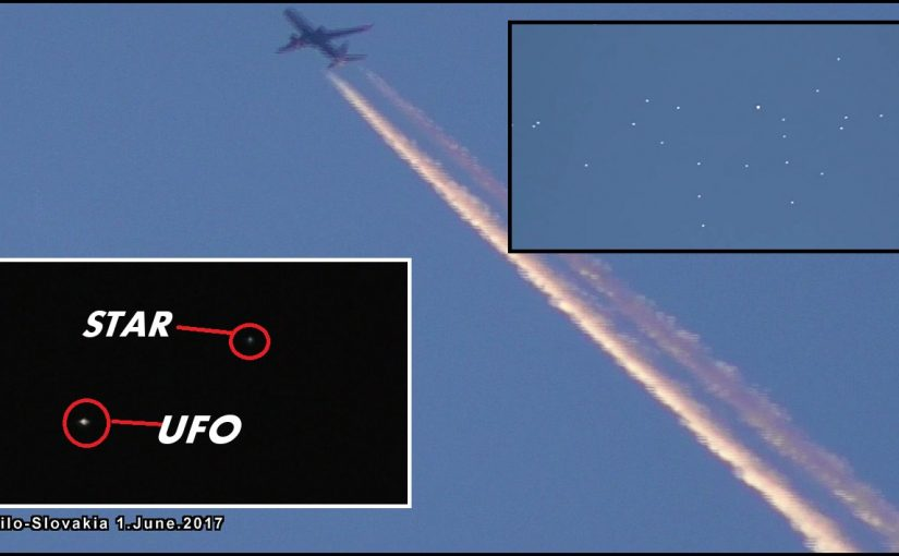 VIDEO: UFO fleet filmed in the morning and UFO mater ship flying in the evening.