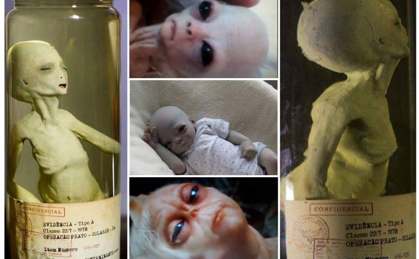 VIDEO: Alien clone – Gray alien baby.