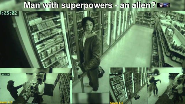 VIDEO:  Proof that superheroes walk among us?