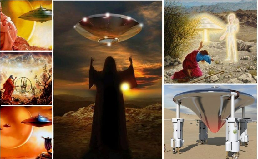 """VIMANA – Ofan – אוֹפָן – (hebrew wheel), what is meant by """"wheel in the wheel"""" of Ezekiel's vision of heavenly chariots – Ez 1, 16. Ezekiel's prophecy of a space ship plan?"""
