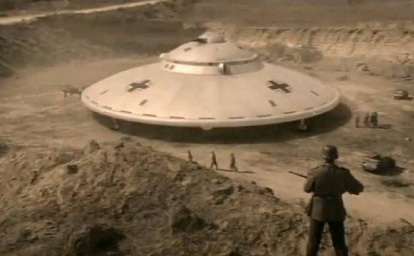 PHOTOS: NAZI UFO -Top-secret Nazi base in the Antarctica codenamed 'Base 211',