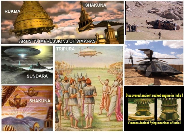 VIDEOS: VIMANA?  appears in India, Russia and New Mexico?