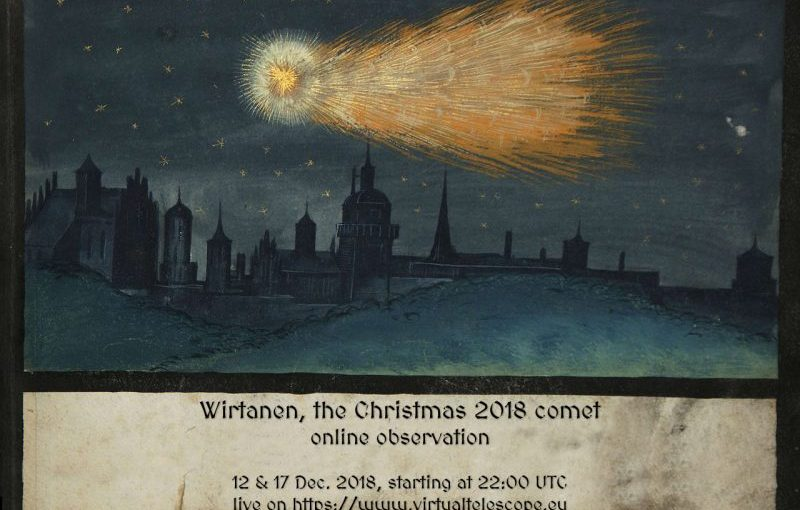 Christmas Comet Flies to Earth! When it was here for the last time, Jesus was born.