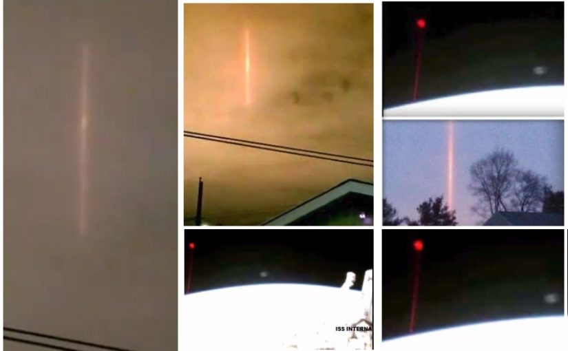 "VIDEO: PLANET X? NIBIRU? ""PULSAR RED PILAR"" IN THE CANADIAN SKY. January 2019"
