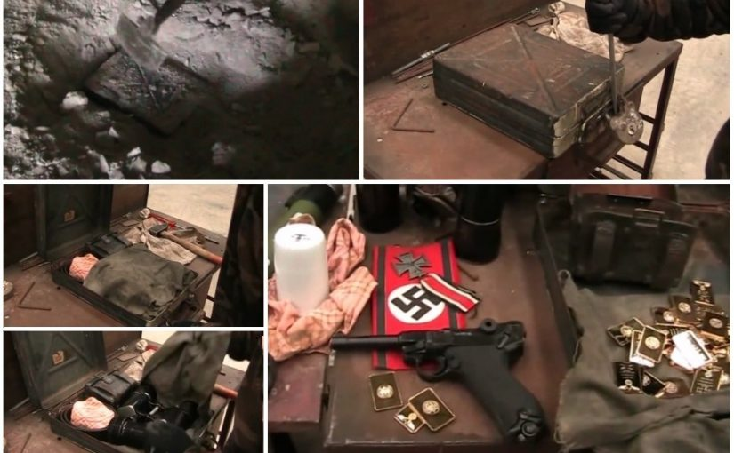 The Mystery of the Strange Briefcase: Nazi treasure from the Second World War discovered in Eastern Europe.