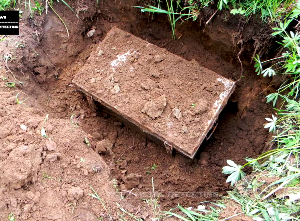 VIDEO: In Russia they dug a suitcase of a German soldier