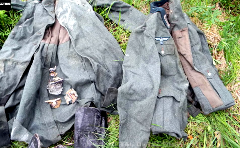 In Russia they dug a suitcase of a German soldier OFFICER from World War II. part 2.