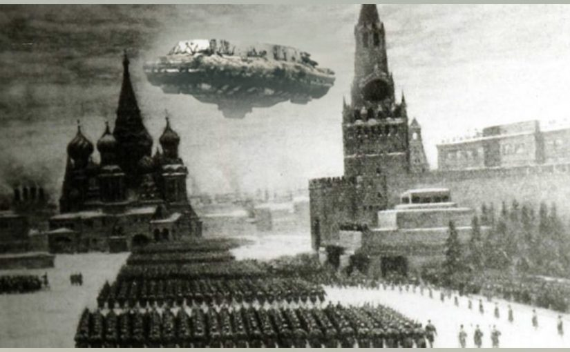 Photos and Videos: GIGANTIC UFO in Moscow Russia.