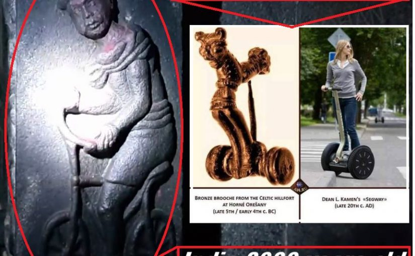 Videos: Advanced Ancient Technology – Bicycle Carved about 2000 years old .India and Slovakia SEGWAY 2500 YEAR OLD.