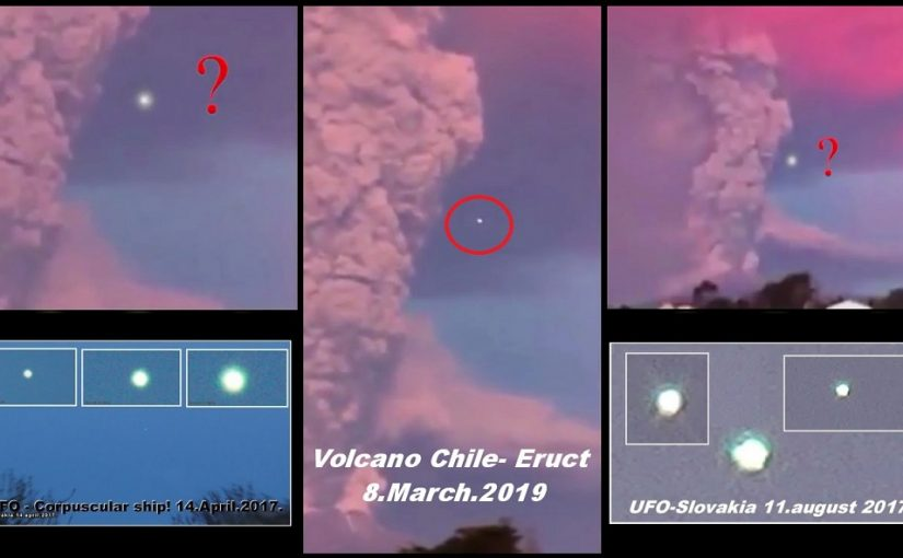 Videos  – Vulcano Chile:During the eruptive phase of Calbuco, some films have shown us the presence of mysterious light UFO near the volcano.