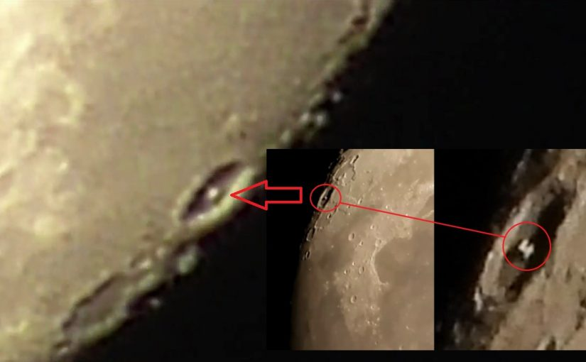 Video:Mysterious Object in the Crater of the Moon What is it?