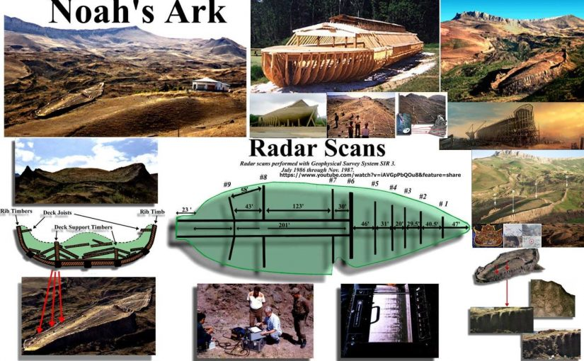 VIDEO: Noah's Ark.Evidence that Noah's Ark Landed on a Mountain  South of Ararat.