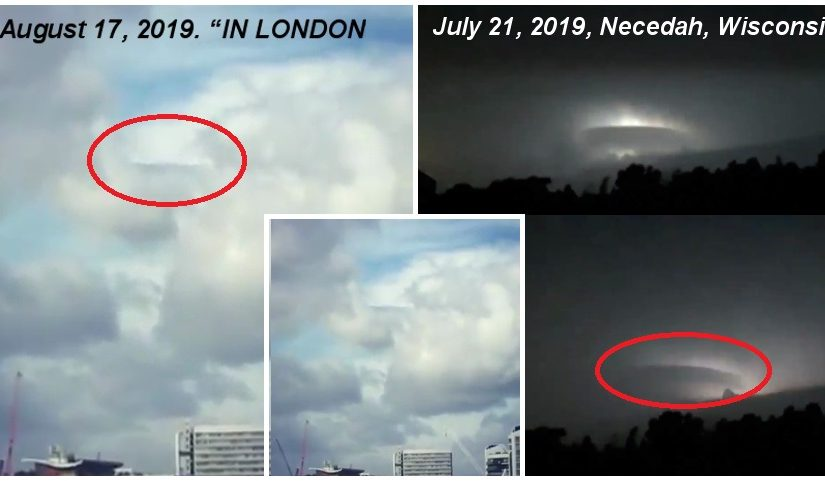 New Videos: UFO   July 21, 2019, Necedah, Wisconsin and August 17 2019.  LONDON, ENGLAND.