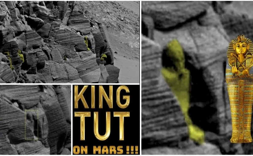Photos and Videos: Ancient Egyptians came from Mars?