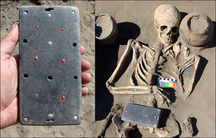 Mobile phone 2,137 years ago? Archaeologists have found strange objects like iphone phones in a Russian tomb!