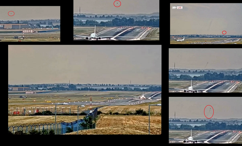 VIDEO: Prague Czech Republic. What happened on August 3, 2019 at Václav Havel Airport?