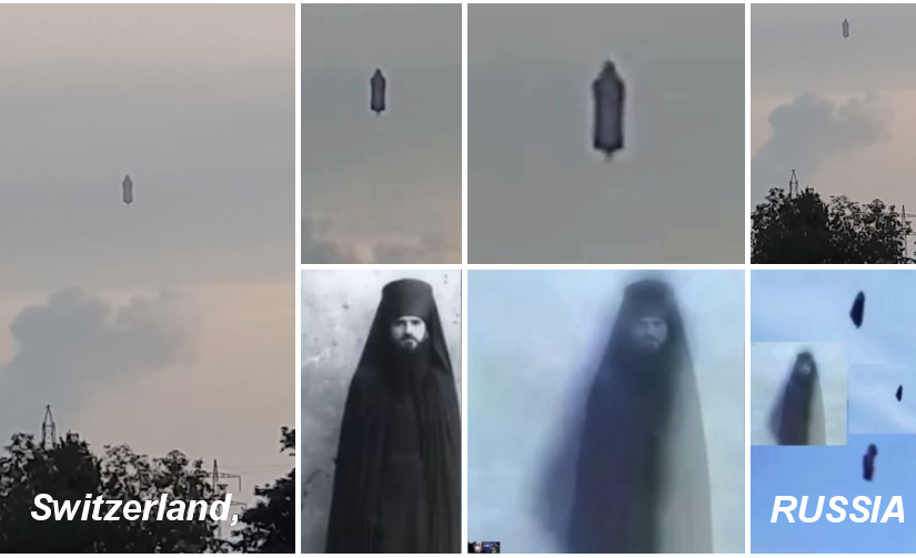 "Videos: Madness after a ""humanoid-like"" object seen in the sky!  In Russia and Switzerland."