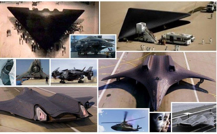Strictly secret secrets:  Roswell UFO models, and U.S. top secret aircraft.